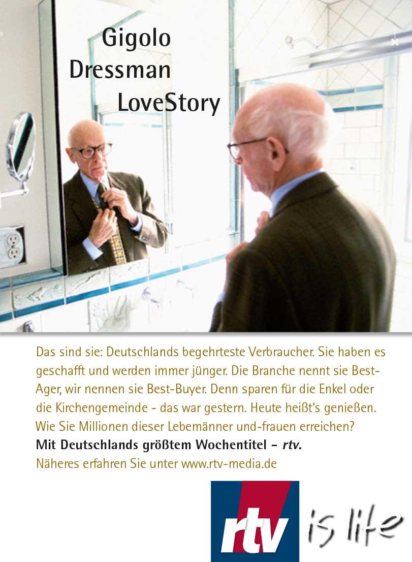 rtv Deutschlands größtes TV-Supplement, dtv, Programmzeitschrift, Fernsehzeitschrift