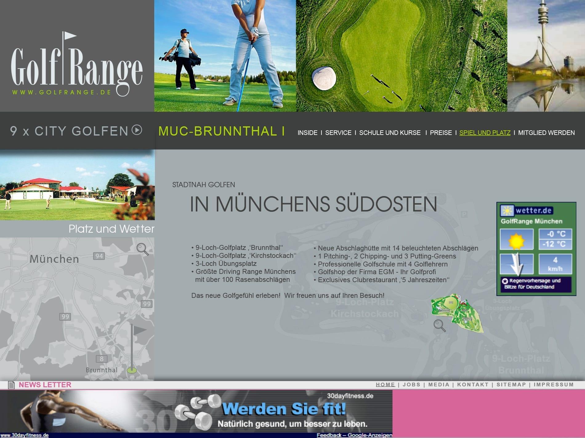 GolfRange, Golfclub, Golf, Sport
