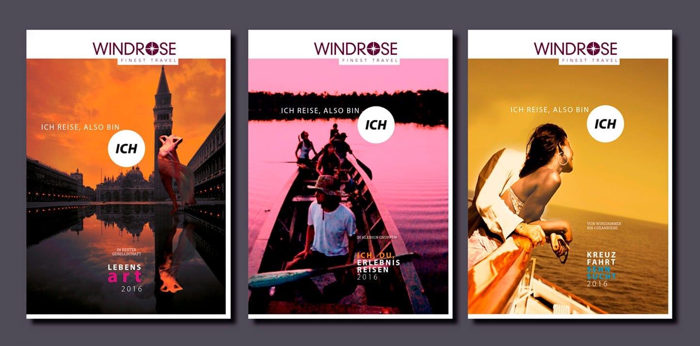 WINDROSE, Reiseveranstalter, Repositionierung,Corporate Design, Luxusreisen, Finest Travel